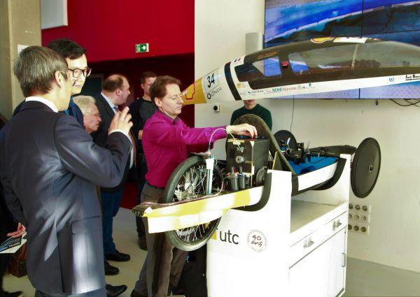 Visite délégation chinoise UTC