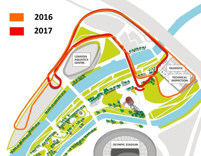 London track 2017